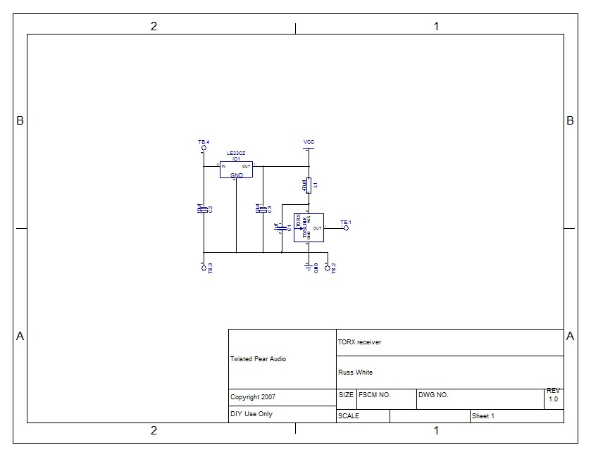 schematic for an optical to spdif coax circuit diyaudio rh diyaudio com Coaxial Cable to RCA Jacks Digital Audio Out Coaxial to RCA Conversion